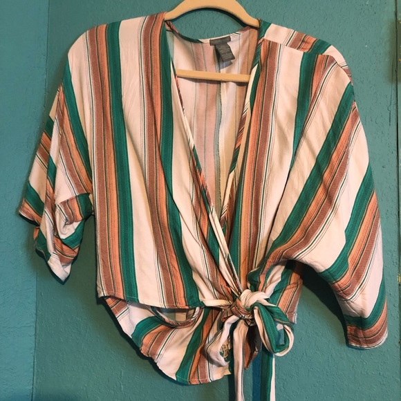 Charlotte Russe Tops - Multi colored blouse